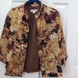 Coldwater Creek jacket Petite Medium 10/12